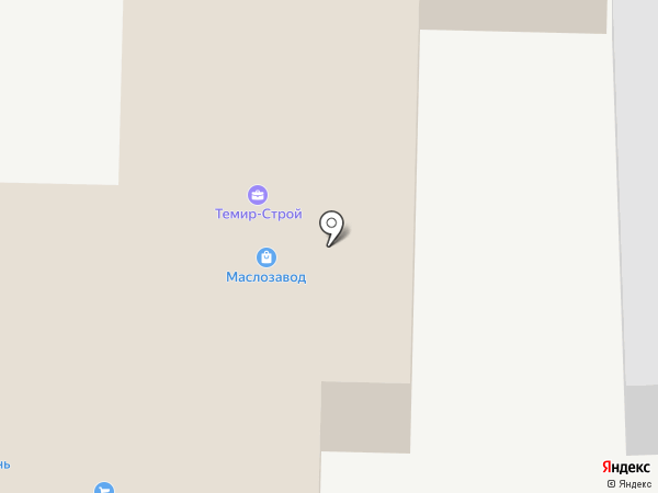 Центральная на карте Старого Оскола