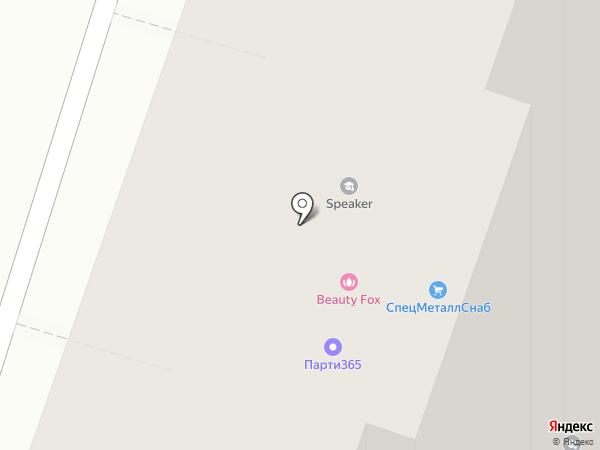 Полет, ПЖСК на карте Люберец