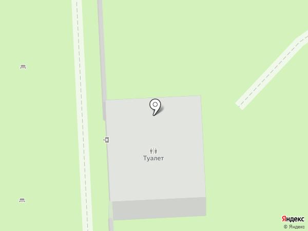 Платный общественный туалет на карте Реутова