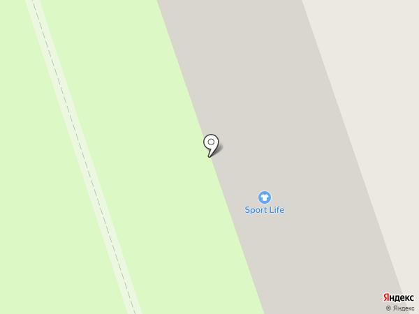 Эден на карте Реутова
