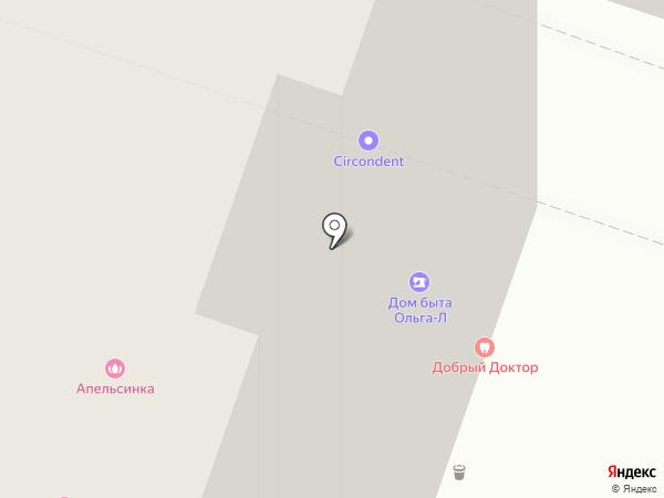 Dental-Zhulebino на карте Люберец