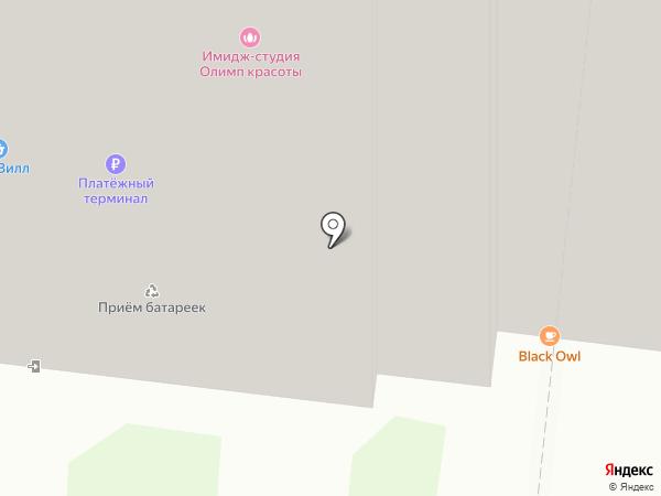 Комирли на карте Реутова