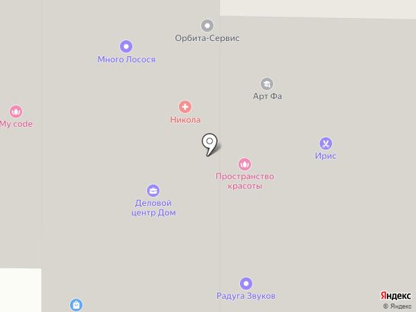 Спутник-Королев на карте Королёва