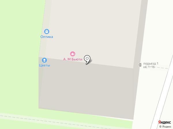 Магазин цветов на карте Реутова