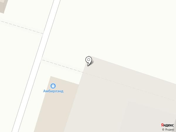 Телега на карте Люберец