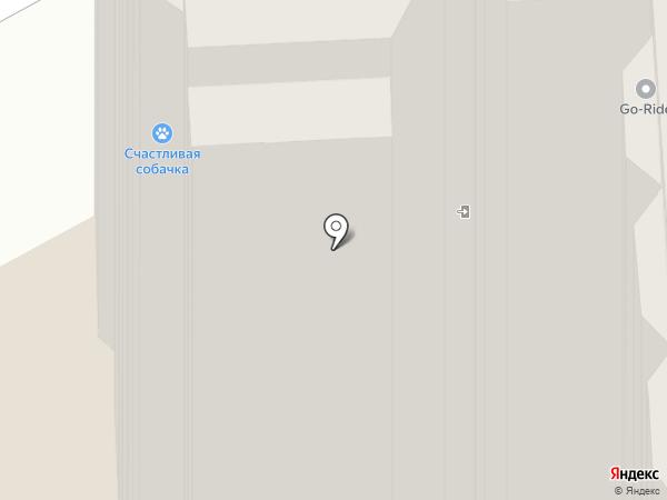 Счастливая Собачка на карте Пушкино
