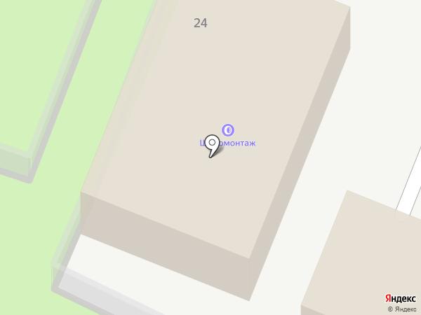Автомойка на карте Лесных Полян