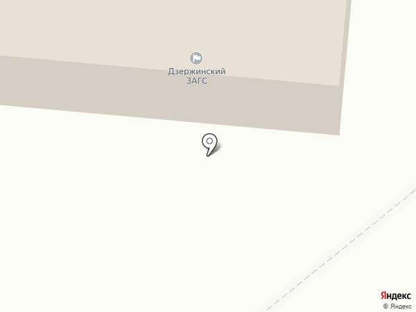 Угреша на карте Дзержинского