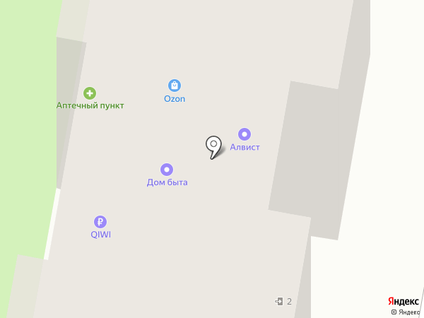 АЛВИСТ на карте Реутова