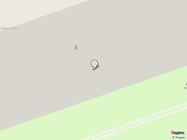 Диана на карте Реутова