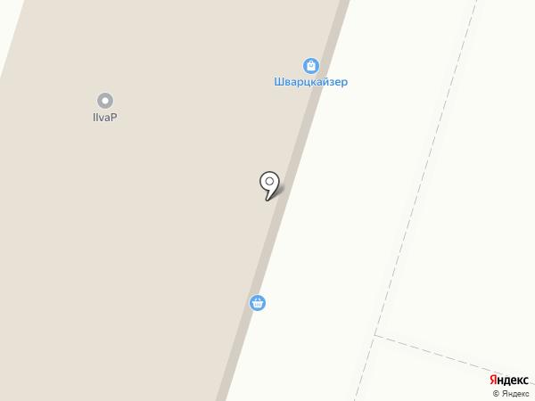 Норман на карте Люберец