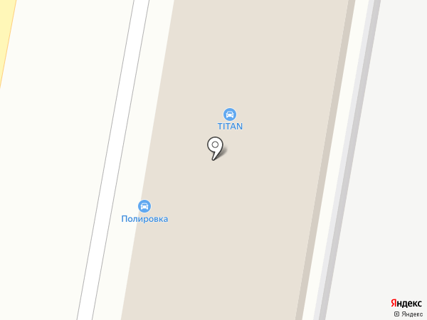 Титан на карте Реутова