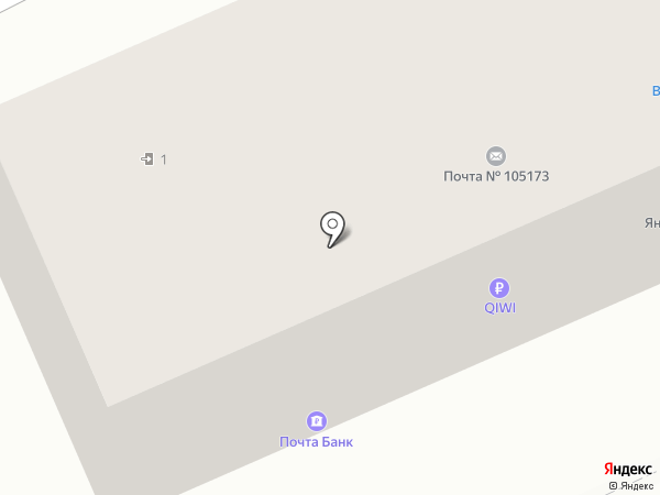 Почта Банк, ПАО на карте Восточного