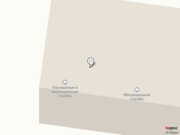 Миграционная служба на карте Ясиноватой