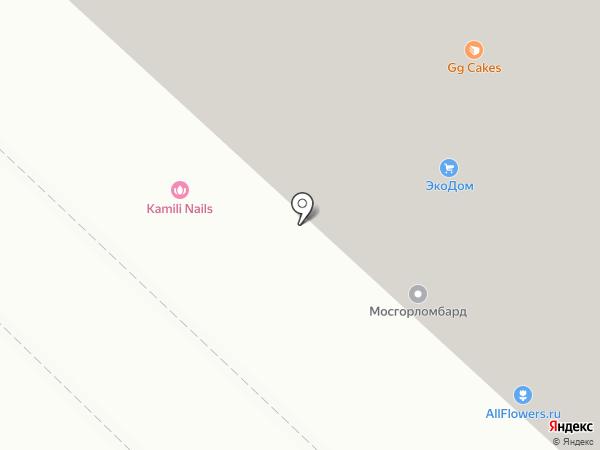 Эден на карте Люберец