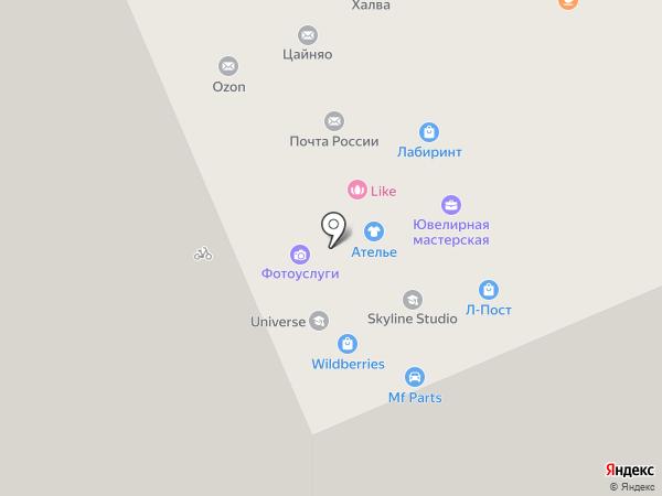 Делюкс на карте Люберец