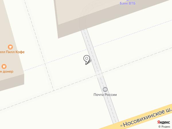 Мария на карте Реутова
