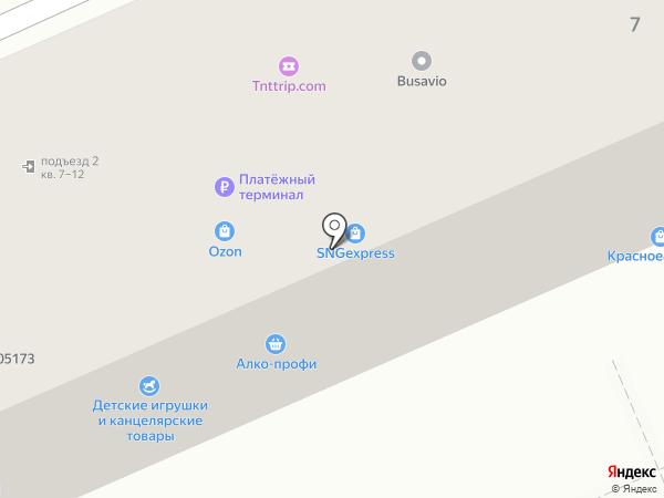 Qiwi на карте Восточного