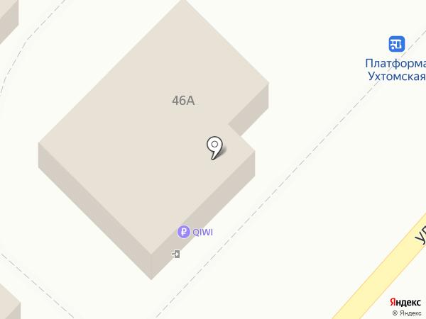 Анкер на карте Москвы