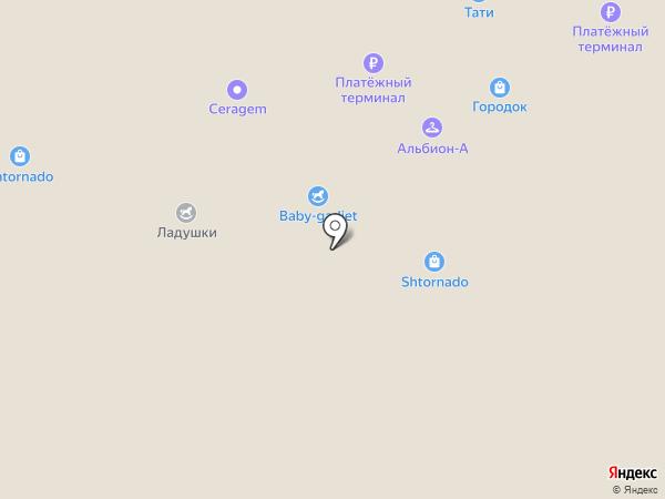 ГОРОДОК на карте Люберец