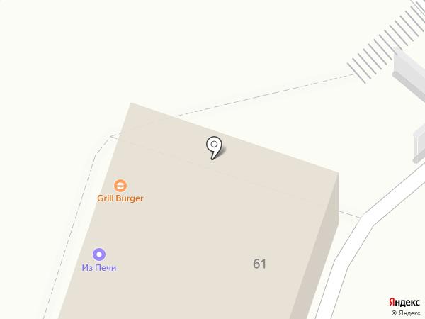 Донер-кебаб на карте Люберец
