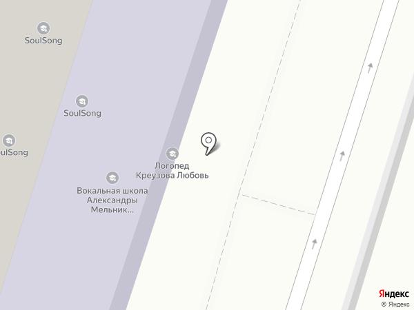 Теремок на карте Люберец