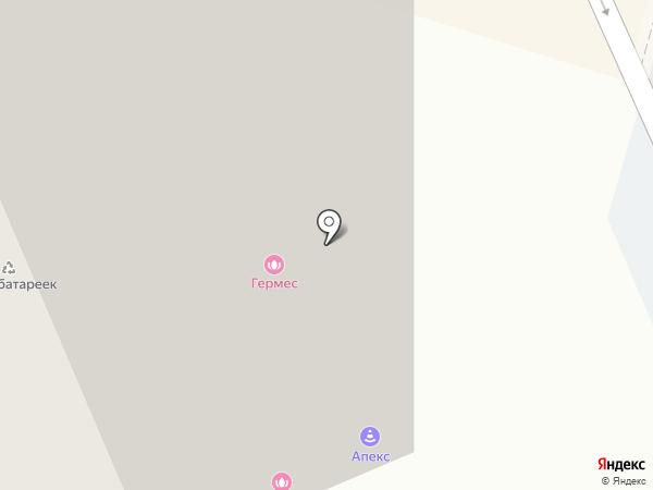 Аскхалита на карте Люберец