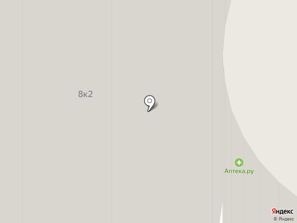 Солнечный зайчик на карте Реутова