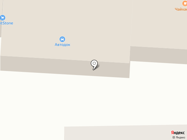 На Базарной на карте Пушкино