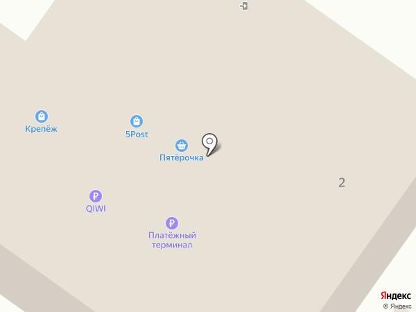 Любава на карте Правдинского