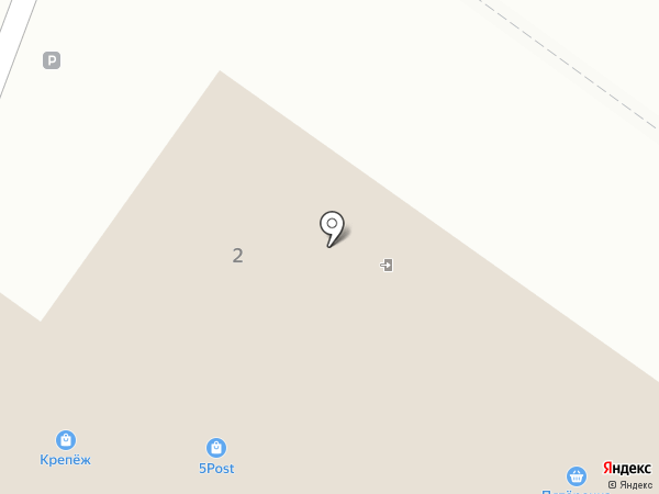 Магнит на карте Правдинского