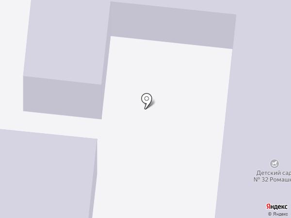 Детский сад №32, Ромашка на карте Королёва