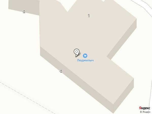 Магазин разливного пива на карте Правдинского
