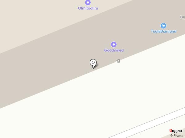 JCB на карте Балашихи