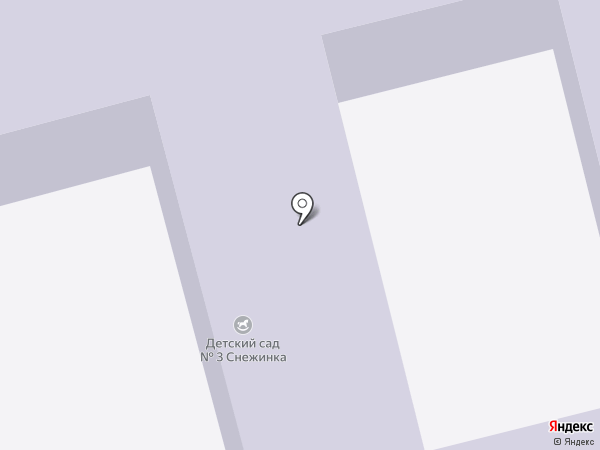 Детский сад №3 на карте Пушкино
