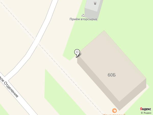 Ермолино на карте Люберец