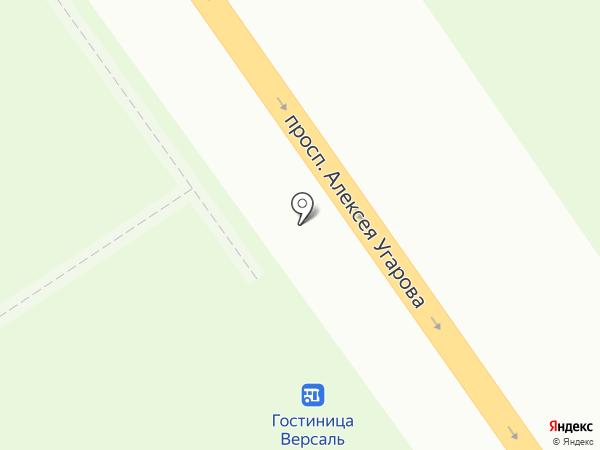 Кебаб Хауз на карте Старого Оскола