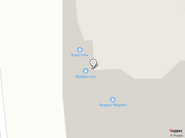 Бристоль на карте Пушкино
