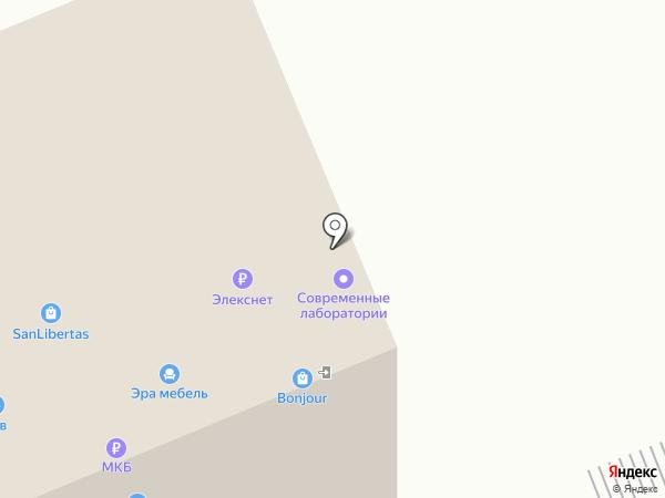 Дубрава на карте Балашихи