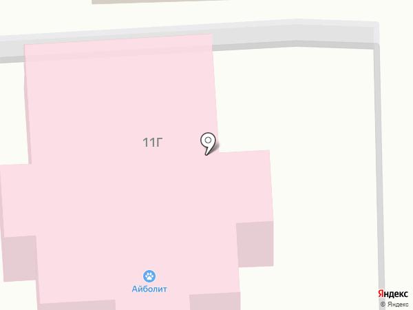 Айболит на карте Старого Оскола