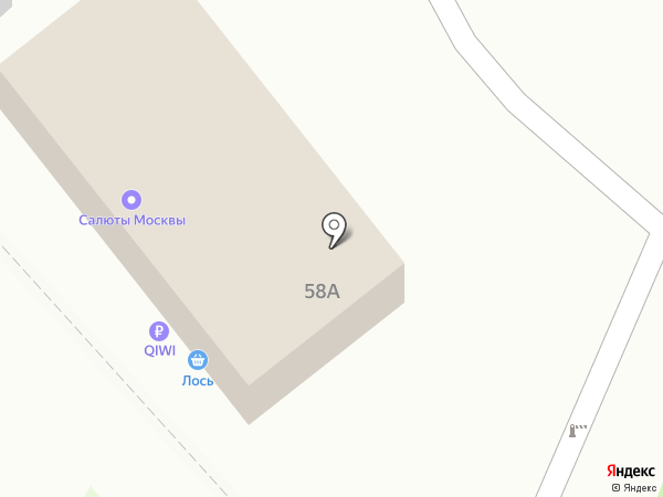 RU-салют на карте Люберец