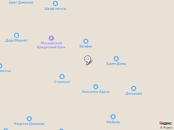 Корвет на карте Королёва