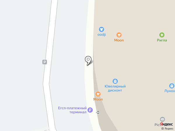 Ригла на карте Королёва