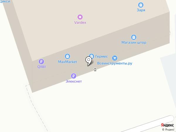 Элекснет на карте Реутова