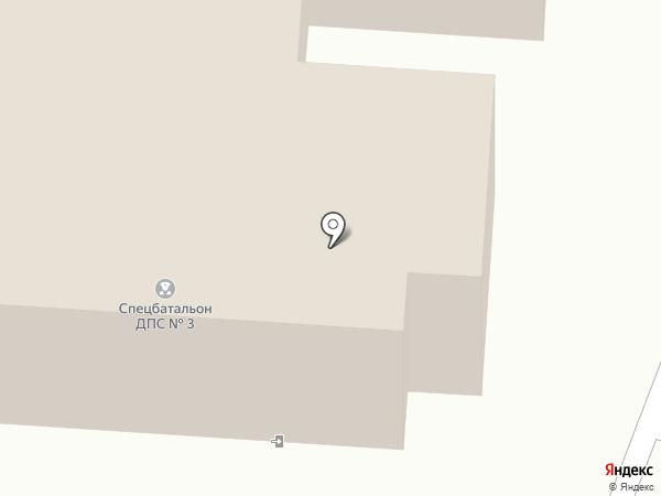 3-й батальон 1-го полка ДПС ГИБДД на карте Пушкино