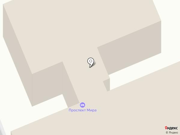 Первая линия на карте Реутова