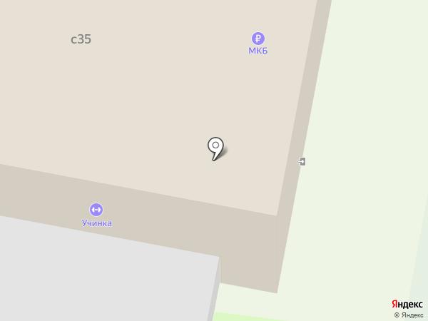 Физкультурно-оздоровительный комплекс на карте Пушкино