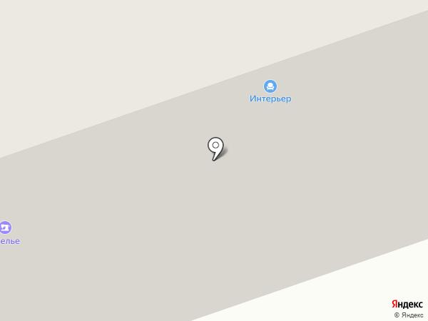 Салон штор на Юбилейном проспекте на карте Реутова