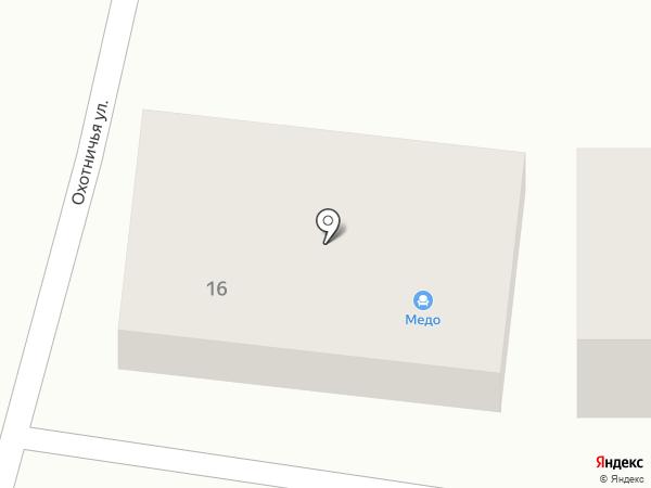 Медо на карте Правдинского