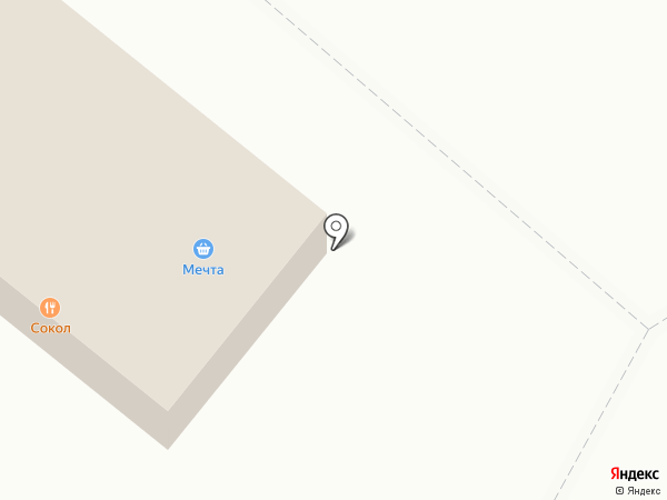 Сокол на карте Дзержинского